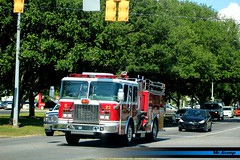 Mobile Fire and Rescue Engine 23 Responding (FutureLEO1994) Tags: red rescue mobile truck fire alabama engine firetruck 23 apparatus