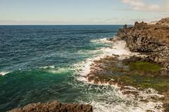 Waves of El Remo (Vladi Stoimenov) Tags: ocean light sea sky color nature water colors wonderful landscape nice spain nikon waves wind atlantic nikkor lapalma atlanticocean d610 nikonlens elremo stoimenov nikkor1424