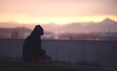 Time to Think About It (Gure Elia) Tags: city sunset backlight contraluz atardecer espaldas back dof bokeh dusk ocaso pamplona taconera pdc canoneos5dmarkii