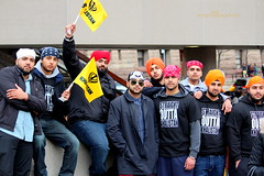 The Khalistan Boys (Honey Agarwal) Tags: family people music food orange signs toronto ontario canada black color boys kitchen yellow proud john square army drums blog downtown nathan mayor kathleen prayer crowd group free tshirt parade celebration event meal mens april greetings females turban sikh punjab kirtan wynne marshal gurudwara humans tory nagar punjabi guru hapiness waheguru serve khalsa 2016 vaisakhi sikhnewyear khalsaday sikhi nathanphilips dhol khanda langar panth osgc seaofcolors turbancolor parade2016 withahugeparadedowntown