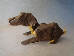 The Dog (mrmicawer) Tags: dog pet origami perro papel papiroflexia masconta