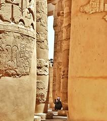 The Guardian. ( Mo'men Saleh) Tags: temple egypt karnak luxor myegypt thisisegypt