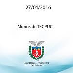 Alunos do TECPUC 27.04.2016