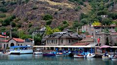 Assos Ancient Cities Assos Harbor (Feridun F. Alkaya) Tags: turkey greek ancient ngc historical assos asos behramkale assus