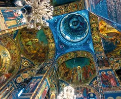 mosaic (travelben) Tags: church saint st architecture painting blood cathedral russia mosaic petersburg indoor baltic ceiling le sur orthodox sang glise spilled russie intrieur savior plafond  saintsauveur sauveur petersbourg saintsauveursurlesangvers vers sauveursurlesangvers cathdrale