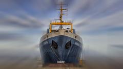 Ghost Ship (klic_ros) Tags: sea canon puerto photo raw ship zoomin vinaros barcopesquero canon600d sigma1750oshsm