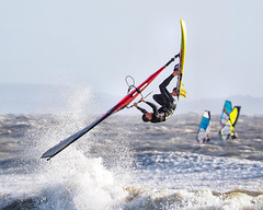 PC311341-Edit (Brian Wadie Photographer) Tags: gulls oystercatcher windsurfing kiting em1 goodlight 14xtc avonbeach canon70300lis hemgistburyhead