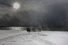 (briyen) Tags: cloud lake snow storm wind shore approaching taho
