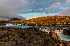 Am Flusse Grimsá (Panasonikon) Tags: iceland island fluss grimsá wolken lzb nikond5100 sunset panasonikon sigma1020 weitwinkel