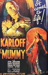 """The Mummy"" (Universal, 1932). Movie Poster (lhboudreau) Tags: film 1932 movie poster movieposter horror mummy horrormovie themummy laemmle motionpicture horrorfilm boriskarloff classicmovie karloff classicfilm universalpictures zitajohann davidmanners theuncanny vintagehorror carllaemmle universalpicture classicmovieposter carllaemmlejr vintagehorrorfilm karlofftheuncanny itcomestolife"