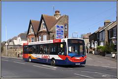 Stagecoach 36877, Ramsgate (Jason 87030) Tags: light sky holiday loop sunny 200 april takeaway roadside publictransport margate stagecoach enviro ramsgate 2015 37877 gn13eymn