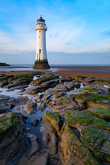 New Brighton Lighthouse (Mister Oy) Tags: lighthouse beach architecture liverpool landscape coast wirral newbrighton davegreen perchrock oyphotos ©oyphotos