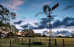 Old Windmill (JChipchase) Tags: sunset windmill landscape countryside australia perth