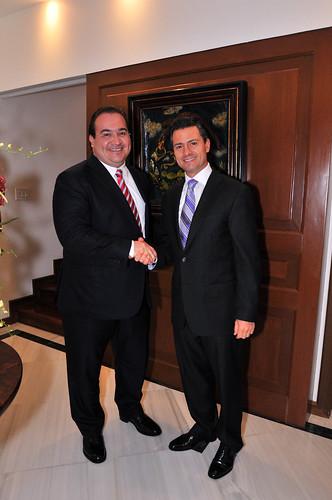 El gobernador Javier Duarte de Ochoa participó en reunión con el presidente Enrique Peña Nieto