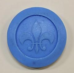Fleur de lis $3.00 (Clelian Heights) Tags: fleurdelis soaps unscented decorativesoaps cleliansoaps