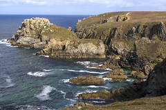 Pointe du Van, falaises (Ytierny) Tags: mer france horizontal bretagne cte pointe van paysage falaise rocher sud finistre rcif iroise cornouaille ytierny