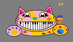 Cat Piano (icon3ras) Tags: paint 9 craigslist ms dollars on