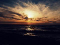 Painted with nature (pietschy.de) Tags: sunset sky beach water clouds israel telaviv colours ישראל mediterraneansea תלאביב עננים שקיעה שמיים החוף מים צבעים ארץישראל paintedbynature erezisrael היםהתיכון סטפניפיצמן pietschyde stefaniepietschmann שצוירעלידיהטבע