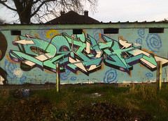 Last one of the year (OneDeink) Tags: graffiti belgium graff liège