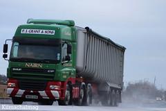 P. J. Grant & Sons Nairn DAF CF MX55 GYN (Kilmachalmag) Tags: scotland highlands highland a9 alness alnesspoint