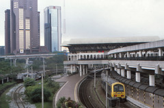 Malaysia - Keretapi Tanah Melayu - Kuala Lumpur (railasia) Tags: 2000 ktm malaysia commuter emu kualalumpur infra oldstation metergauge