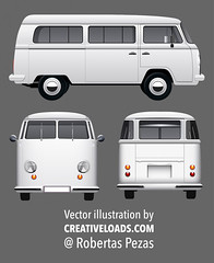 Vector Retro Hippie Van (creativeloads.com) Tags: old travel summer camp vacation holiday abstract flower bus classic car silhouette illustration truck vintage paper season wagon fun creativity happy freedom design cool picnic peace graphic symbol artistic grunge transport beetle picture retro transportation shuttle worn vehicle hippie hitchhiking create van woodstock camper seventies sixties