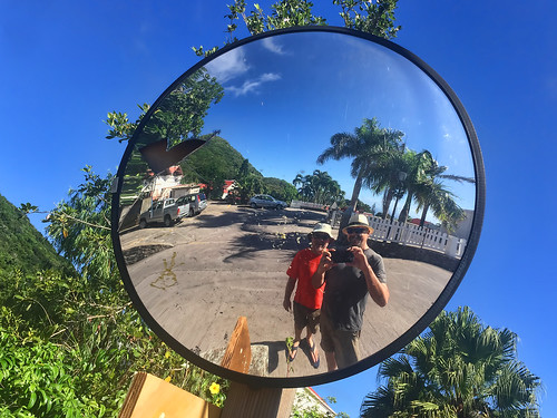 Oh! We found another intersection mirror.
