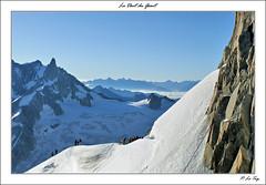 La Dent Du Gant. (P.LeToq) Tags: montagne alpes chamonix alpinisme sommet