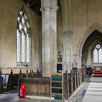 Swaton, St Michel's church interior thumbnail