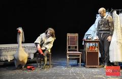 Елена Имбирева о спектакле «Как Зоя гусей кормила»