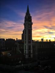 Alba a Milano (lefotodiannae) Tags: santa italia alba maria basilica milano campanile di della lourdes citt lefotodiannae