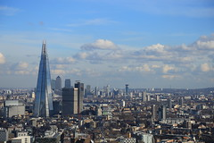 View from the London Eye (zeity121) Tags: england london wheel skyline cityscape londoneye vista shard theshard