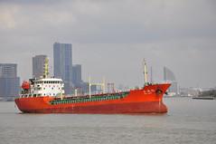 Yong Cheng 16 (larry_antwerp) Tags: china ship shanghai vessel tanker schip huangpujiang yongcheng16