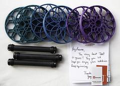 Akerworks Bobbins (chavala) Tags: knitting spinning bobbins akerworks