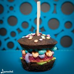 Harajuku Burger Cupcake (gigchick) Tags: burger cupcake harajuku katherinesabbath