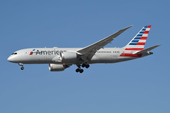 American Airlines Boeing 787-800 Dreamliner; N805AN@LAX;03.02.2016 (Aero Icarus) Tags: california plane aircraft lax americanairlines flugzeug avion losangelesinternationalairport dreamliner boeing787 boeing787800 n805an