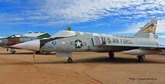 Convair F-106A Delta Dart ~ 59-003 (Aero.passion DBC-1) Tags: museum plane tucson aircraft aviation delta muse pima preserved dart ~ avion airmuseum airspacemuseum convair f106 59003 aeropassion musedelair dbc1 prserv