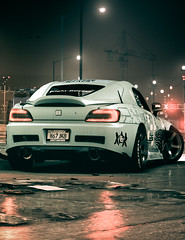 20160207-Need for Speed_20160207155516_stitch (araik_sz) Tags: light game car rain night honda reflections s2000 nfs