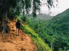 Kalalau Trail (mlee525) Tags: nature hawaii hiking wanderlust kauai iphone keebeach kalalautrail npali napalicoaststatepark vsco npalicoaststatepark vscocam hanakapaiaibeach