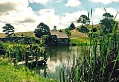 """""""Hobbiton"""" at Matamata in NZ (richwall100 - Thank you for Two Million views) Tags: film nz tolkien filmset hobbiton matamata"""
