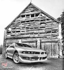 Galant (paul giles19) Tags: white black barn canon paul photography low giles 1022mm mitsubishi warwickshire galant wodden 650d