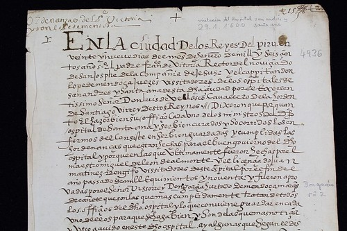 1600 Indios Hospital Medicina Perú Lima ordinances-manuscript Invisible Fragmentoebay.comb