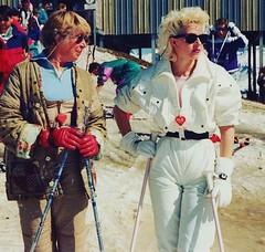 12545252_938701502831738_1338013726_n (onesieworld) Tags: baby ski sexy girl fashion vintage shiny retro 80s nylon 90s catsuit snowsuit skisuit