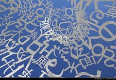 Letters in the Sky, Frankfurt, Germany (JH_1982) Tags: sky sculpture art statue germany campus deutschland university hessen body frankfurt letters knowledge alemania universitt allemagne goethe germania francfort frankfurter hesse meno plensa buchstaben jaume francoforte  frncfort