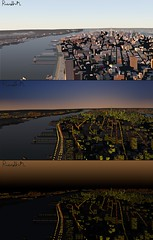 The Lights Go Down (Rorymacve Part II) Tags: nyc newyorkcity usa newyork water ferry brooklyn river newjersey harbour manhattan worldtradecenter brooklynbridge eastriver twintowers hudsonriver empirestatebuilding wtc statueofliberty ellisisland