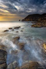 Punta de Loma Pelada I (Jose HL) Tags: sea seascape landscape see mar cabo mediterraneo paisaje andalucia amanecer almera cabodegata rocas parquenaturalcabodegata