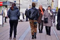 Walking down the street (osto) Tags: denmark europa europe sony zealand scandinavia danmark slt a77 elsinore sjlland osto alpha77 osto february2016