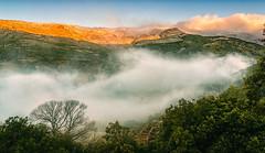 Raising the fog (pacogranada) Tags: españa mountain fog dawn spain andalucia amanecer granada andalusia montaña niebla trevelez alpujarra laalpujarra nikond610
