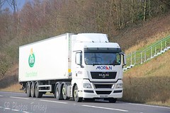 MAN Moran DE62 OZK (SR Photos Torksey) Tags: road man truck transport lorry commercial vehicle moran freight logistics haulage hgv lgv