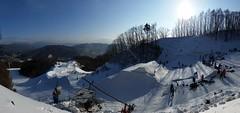 Welcome to Korea (toons11111) Tags: snow landscape cross korea snowboard coree snowboardcross sbx
